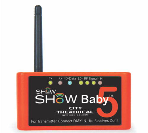City Theatrical Show Baby 5 Transceiver