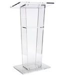 Acrylic Podium - Clear