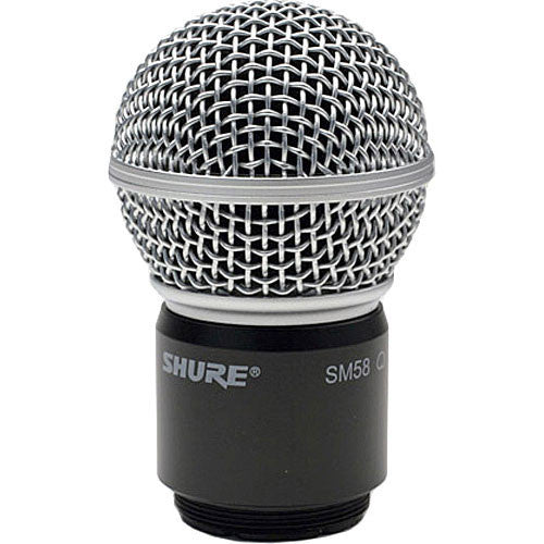 Shure SM58 Capsule for Wireless Microphone Transmitters