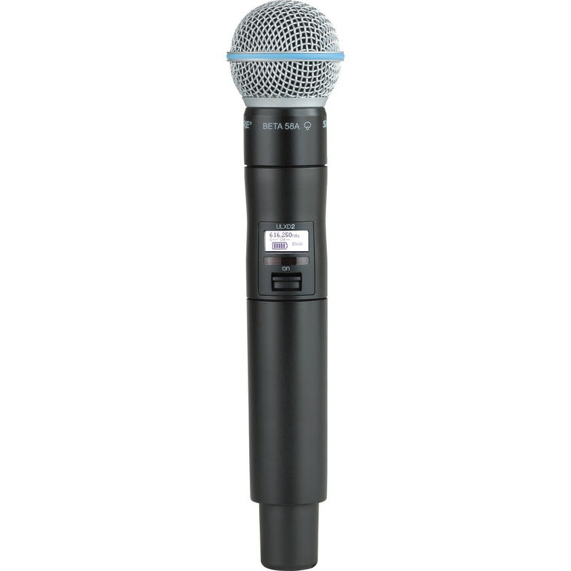 Shure ULXD2 Digital Handheld Wireless Microphone Transmitter