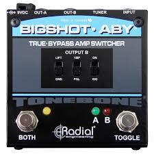Radial Engineering BigShot ABY True-Bypass Amplifier Switcher