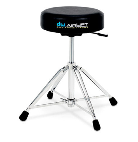 DW 9000 Series Airlift Drum Throne - Round