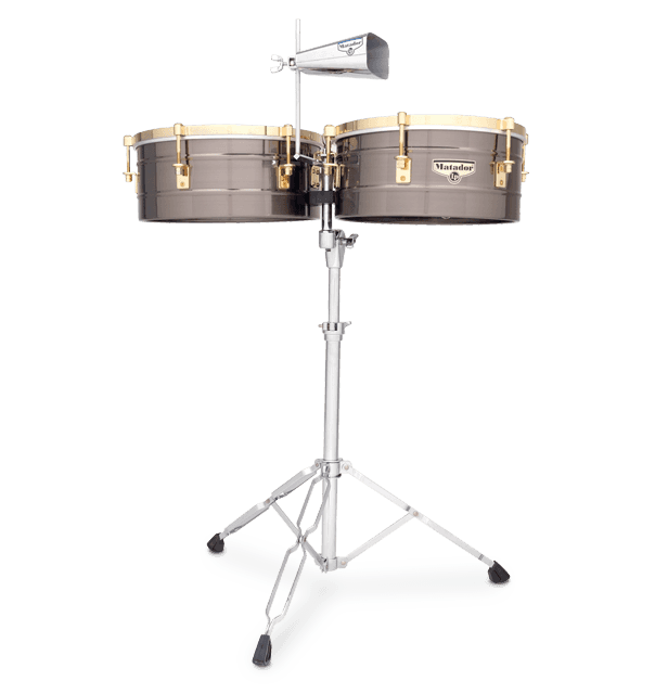 "LP Timbales -  15"" Matador - Brushed Nickel"