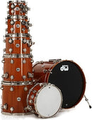 DW Collector's Cherry/Mahogany Tom - Choose Size