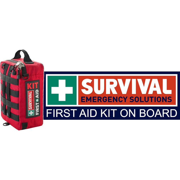 First Aid KIT Sticker