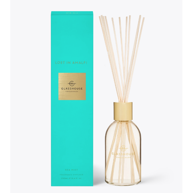 Glasshouse Diffuser Lost in Amalfi 250ml