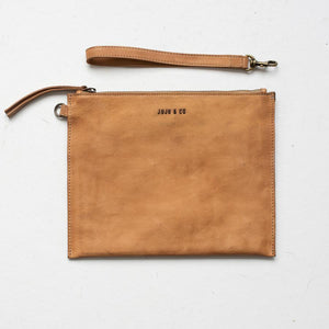 Flat Pouch Large Natural