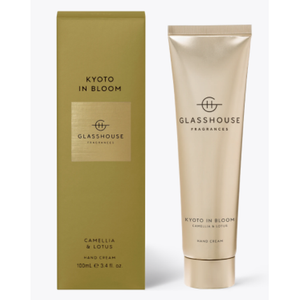 Glasshouse Hand Cream Kyoto In Bloom