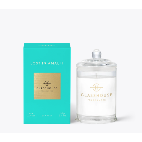 Glasshouse Candle Lost In Amalfi 60G