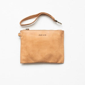 Small Flat Pouch Natural