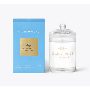 Glasshouse Candle The Hamptons 60G