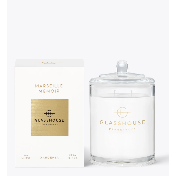 Glasshouse Candle Marseille Memoir