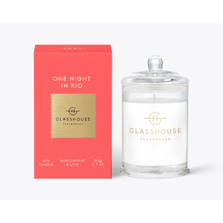 Glasshouse Candle One Night In Rio 60G