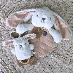 Cream Bunny Baby Gift Set