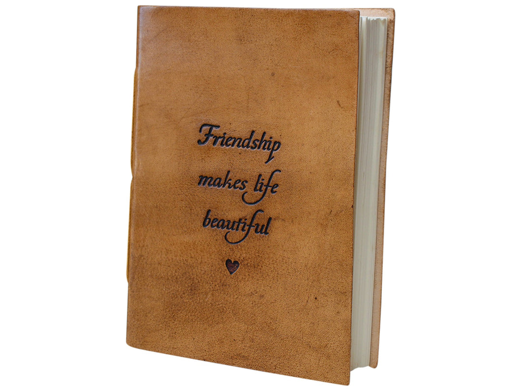 Leather Notebook Friendships