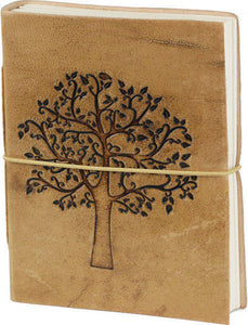 Leather Notebook Life Tree