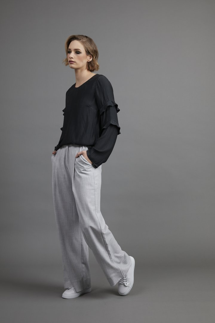 Drama The Label - NYC Pant - Cloud Marle