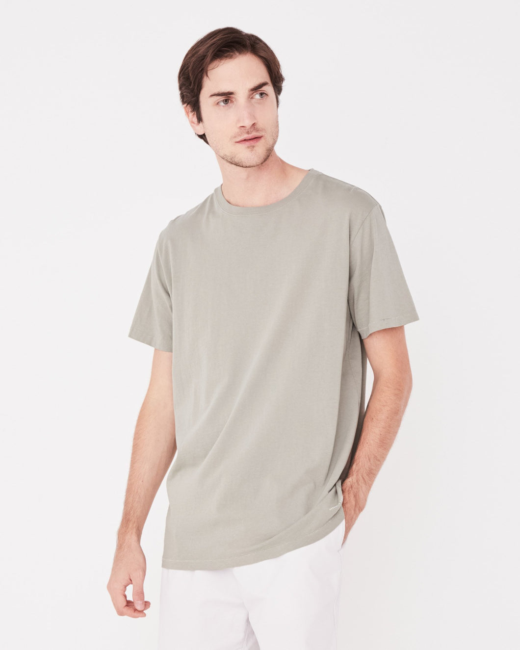 Assembly Label Standard T-Shirt Seagrass