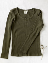 Load image into Gallery viewer, Karibou Ladies Willow Long Sleeve Waffle Henley Top