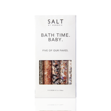 Load image into Gallery viewer, Salt by Hendrix Bath time baby Set of 5