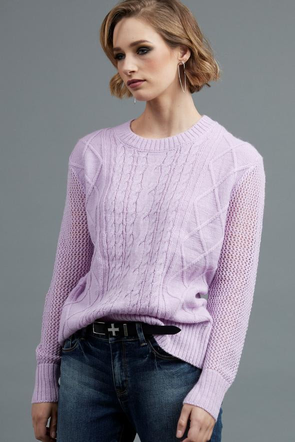 Drama The Label - Lucky Sweater - Lilac