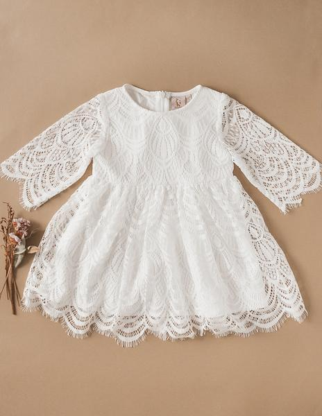 Karibou Lacey Bohemian Lace Dress
