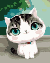 Load image into Gallery viewer, Beautiful Cat DIY Painting by Numbers - Paint by Numbers Kits