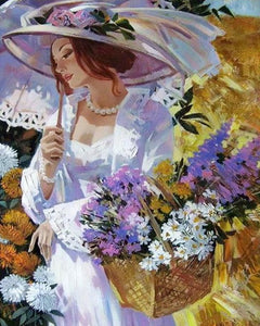 Lovely Bride - Paint by Numbers - Paint by Numbers Kits