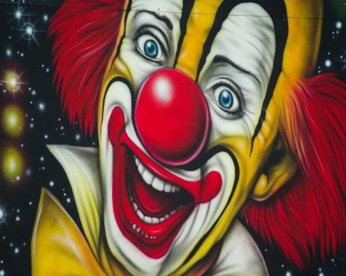 Joker - Painting Kit by Numbers - Paint by Numbers Kits