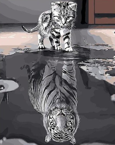 Tiger Cub - Future Spirit - Paint by Numbers Kits
