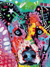 Load image into Gallery viewer, Beautiful Dog Artistic painting by numbers - Paint by Numbers Kits