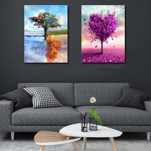Load image into Gallery viewer, Four Seasons Tree - Tree of Life - Meaningful tree collections [Painting By Numbers] - Paint by Numbers Kits