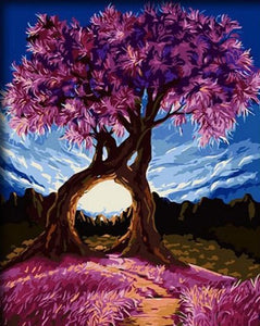 Four Seasons Tree - Tree of Life - Meaningful tree collections [Painting By Numbers] - Paint by Numbers Kits
