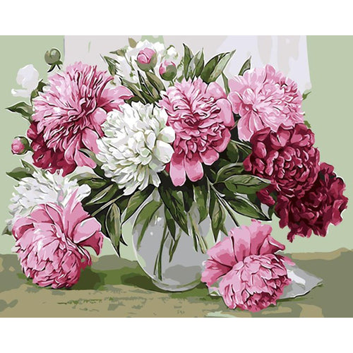 Elegant Flowers - Paint by Numbers Kits