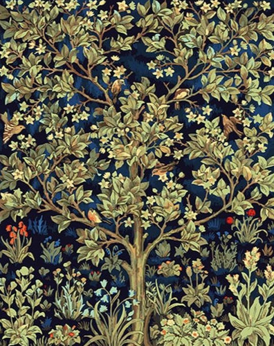 Tree of Life by William Morris - Paint by Numbers Kits
