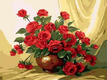 Load image into Gallery viewer, Flowers Paintings by Numbers - Paint by Numbers Kits