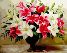 Load image into Gallery viewer, 14 Unframed FLORAL Paintings by Numbers - Paint by Numbers Kits