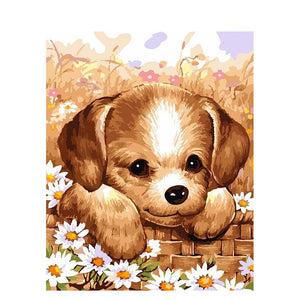 Brown Dog - Paint by Numbers Kits
