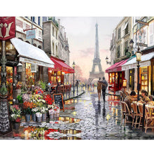 Load image into Gallery viewer, A Beautiful street in Paris - Paint by Numbers Kits