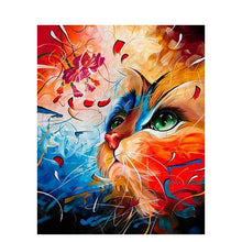 Load image into Gallery viewer, Fantasy Color Cat - Paint by Numbers Kits