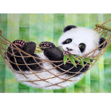 Load image into Gallery viewer, Panda Paintings by Numbers - Paint by Numbers Kits