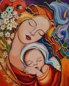 Madonna and Child - Paint by Numbers Kits