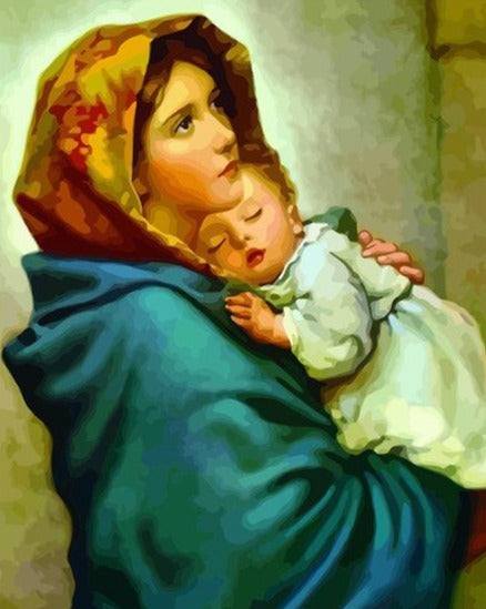 The Holy Virgin - Paint by Numbers Kits