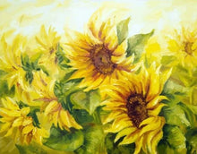 Load image into Gallery viewer, Beautiful Sunflower Field - Paint by Numbers Kits