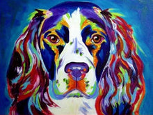 Load image into Gallery viewer, Colorful Dog Paint by Numbers kit - Paint by Numbers Kits