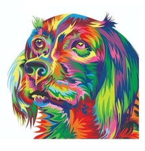 Load image into Gallery viewer, Cartoon Dog Painting by Numbers - Paint by Numbers Kits