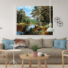 Load image into Gallery viewer, Lovely Nature Landscape pictures by numbers - Paint by Numbers Kits