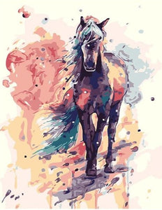 A Beautiful Horse Painting by Numbers - Paint by Numbers Kits