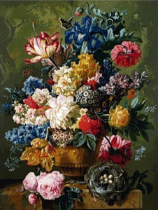 8 Unique Flower Paintings by Numbers - Paint by Numbers Kits