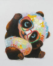 Load image into Gallery viewer, Panda Mother and Child - Paint by Numbers Kits
